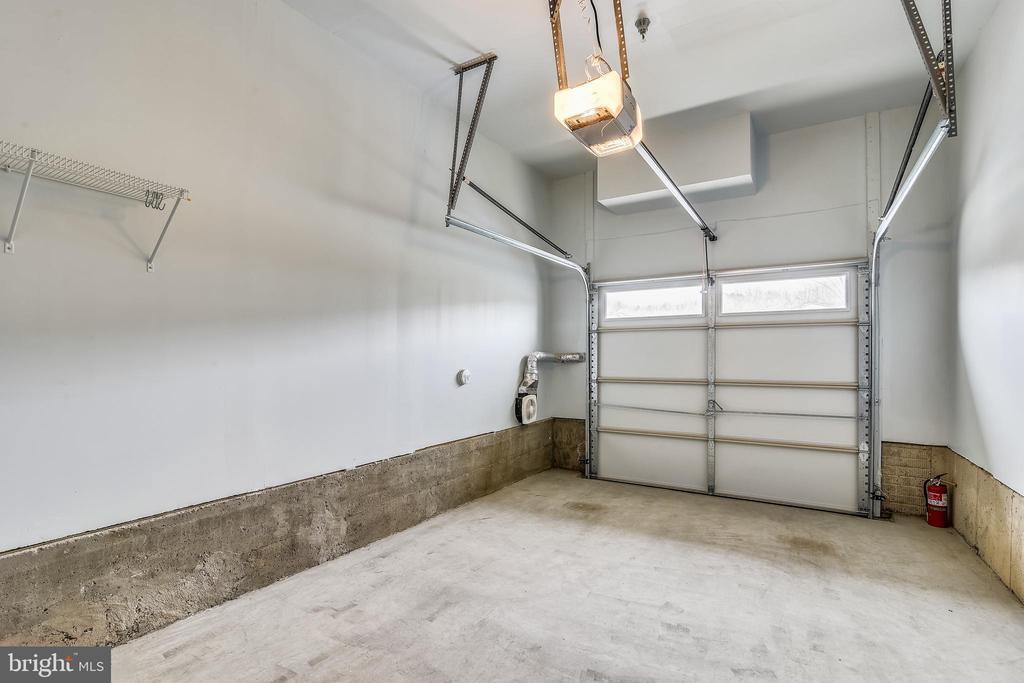 1 Car Garage - 1308 RIBBON LIMESTONE TER SE, LEESBURG