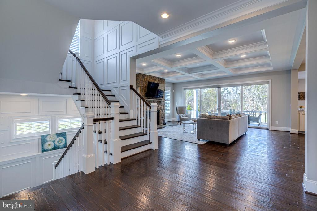 Layers of luxury with beautiful detailing - 23065 CHAMBOURCIN PL, ASHBURN