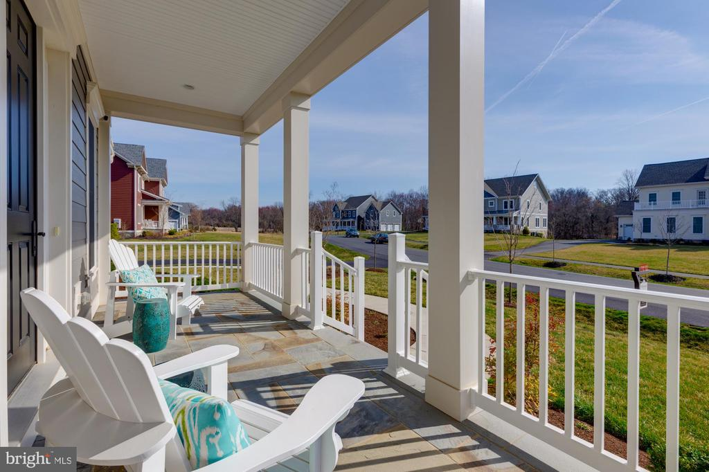 Sip your morning coffee on the front porch - 23065 CHAMBOURCIN PL, ASHBURN