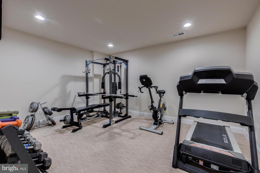 Den perfect for exercise room/hobby room/study - 23065 CHAMBOURCIN PL, ASHBURN