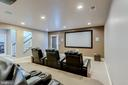 Perfect to watch movies or sporting events - 23065 CHAMBOURCIN PL, ASHBURN