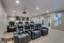 Comfortably entertain large groups in open theatre - 23065 CHAMBOURCIN PL, ASHBURN