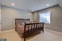 Welcome your overnight guests in style in BR #5 - 23065 CHAMBOURCIN PL, ASHBURN