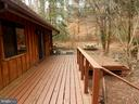 Rear view of Wrap Around Deck - 9108 MILL POND RD, SPOTSYLVANIA