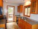 Galley style kitchen w/ updated features - 9108 MILL POND RD, SPOTSYLVANIA