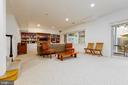 Lowe level family room - 4311 TORCHLIGHT CIR, BETHESDA
