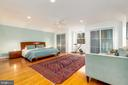 Master bedroom - 4311 TORCHLIGHT CIR, BETHESDA