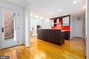 Anthony Wilder designed- kitchen, with skylight - 4311 TORCHLIGHT CIR, BETHESDA