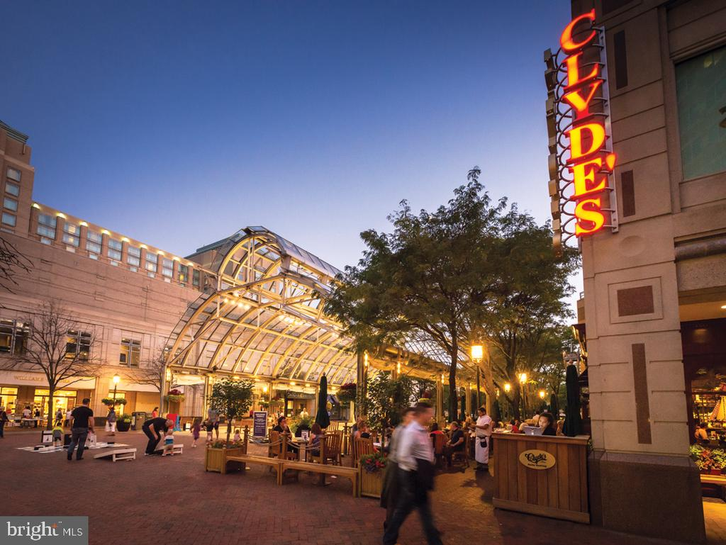 Reston Town Center is a vibrant outdoor venue - 11713 PAYSONS WAY, RESTON