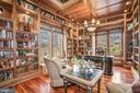 Custom Cherry floor to ceiling Built-Ins - 13509 PATERNAL GIFT DR, HIGHLAND