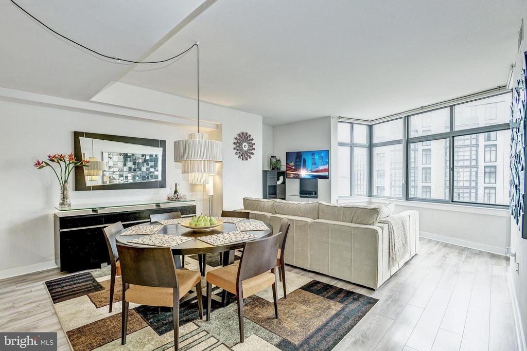 Current furniture configuration - 460 NEW YORK AVE NW #802, WASHINGTON
