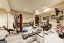 Lower Level Fitness Room - 13509 PATERNAL GIFT DR, HIGHLAND