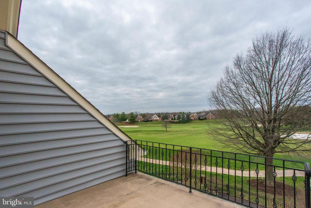 Golf Course View~from the 4 level deck Golf Course - 18339 BUCCANEER TER, LEESBURG