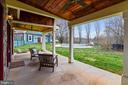 Guest House Porch View - 40325 CHARLES TOWN PIKE, HAMILTON