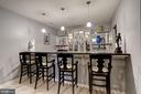 Custom Bar - 6108 SHADED LEAF CT, COLUMBIA