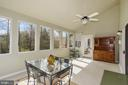 Master Private Sunroom - 6108 SHADED LEAF CT, COLUMBIA
