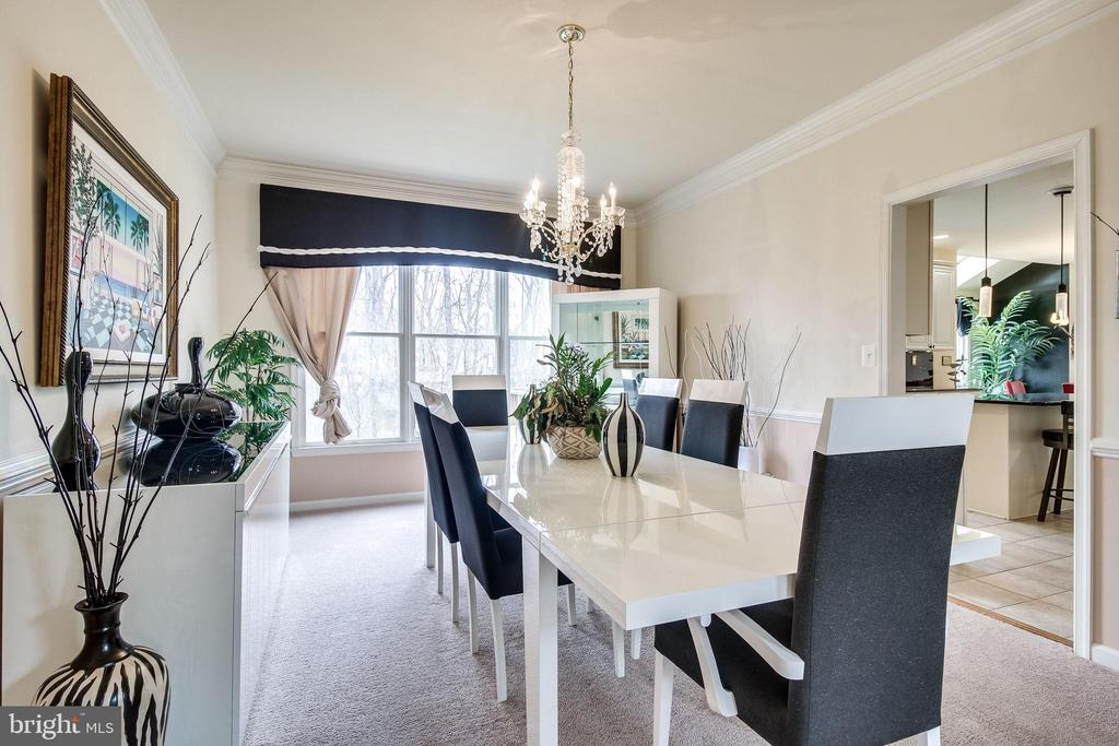 Formal Dining room - 13451 GRAY VALLEY CT, CENTREVILLE