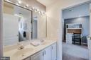 Double vanity - 13451 GRAY VALLEY CT, CENTREVILLE