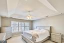 Master Bedroom - 147 HERNDON MILL CIR, HERNDON