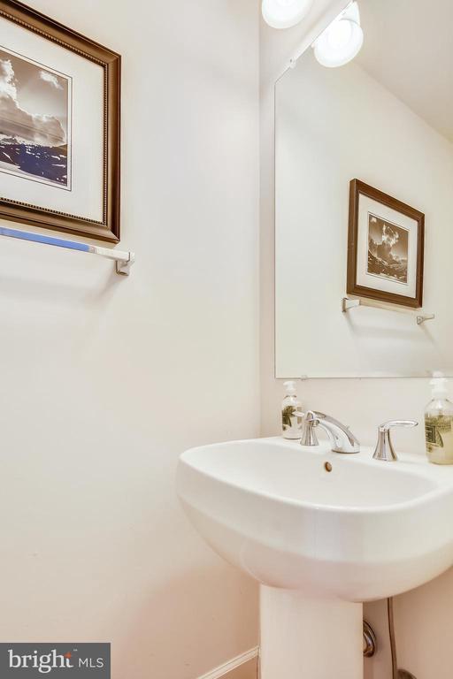 Half Bath off Stairs - 147 HERNDON MILL CIR, HERNDON