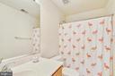 Hall Bath Upstairs - 147 HERNDON MILL CIR, HERNDON