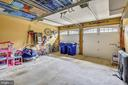 Two Car Garage - no squeezing in here - 147 HERNDON MILL CIR, HERNDON