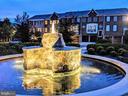 Community Fountain at night - 147 HERNDON MILL CIR, HERNDON