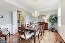 Formal Dining Room - 43475 SQUIRREL RIDGE PL, LEESBURG