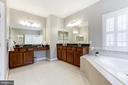 Spa Quality Master Bathroom! - 43475 SQUIRREL RIDGE PL, LEESBURG