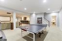 Lower level game room - 43475 SQUIRREL RIDGE PL, LEESBURG