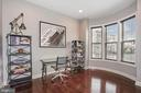 Library with Bay Front Window for Lots of Light - 20689 HOLYOKE DR, ASHBURN