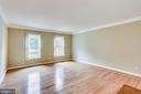 FORMAL LIVING ROOM WINDOWS -LOTS OF NATURAL LIGHT - 7365 BEECHWOOD DR, SPRINGFIELD