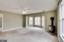 VIEW OF MASTER BEDROOM FROM WALK IN CLOSET # ONE - 7365 BEECHWOOD DR, SPRINGFIELD