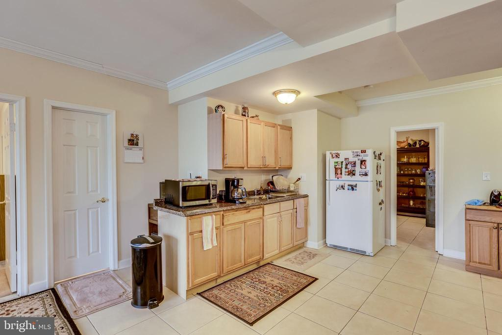 LOWER LEVEL-ONE OF TWO KITCHEN WET BAR - 7365 BEECHWOOD DR, SPRINGFIELD