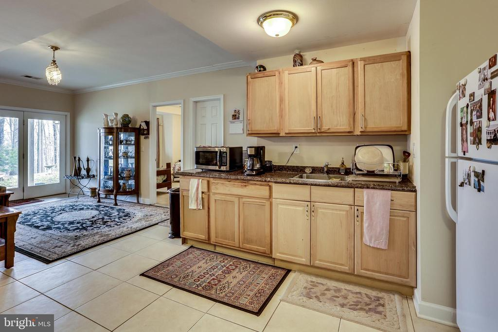 LOWER LEVEL  (ONE OF TWO) IN LAW SUITE KITCHENS - 7365 BEECHWOOD DR, SPRINGFIELD