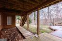 WALKWAY TO FIRE PIT FROM IN-LAW/AU-PAIR SUITES - 7365 BEECHWOOD DR, SPRINGFIELD