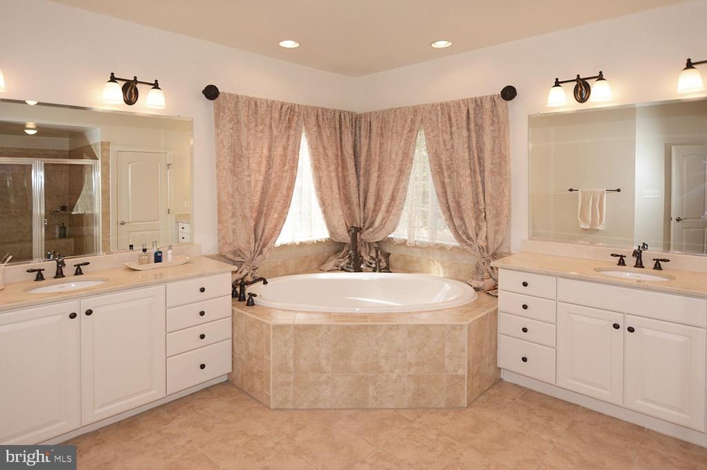 Separate Vanity in Master Bath - 2976 TROUSSEAU LN, OAKTON