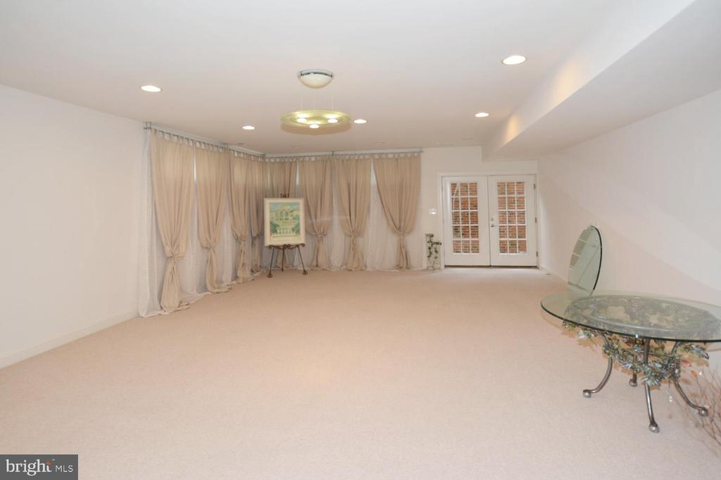 Finished Lower Level lead to Walk up stairs - 2976 TROUSSEAU LN, OAKTON