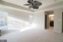 Master bedroom to walk-in and bath - 5717 KOLB ST, FAIRMOUNT HEIGHTS