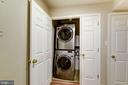 SS stacked washer/dryer - 43329 MARY RITA TER, ASHBURN