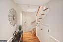 Hallway to stairs to 2nd level (storage also!) - 3747 KANAWHA ST NW, WASHINGTON