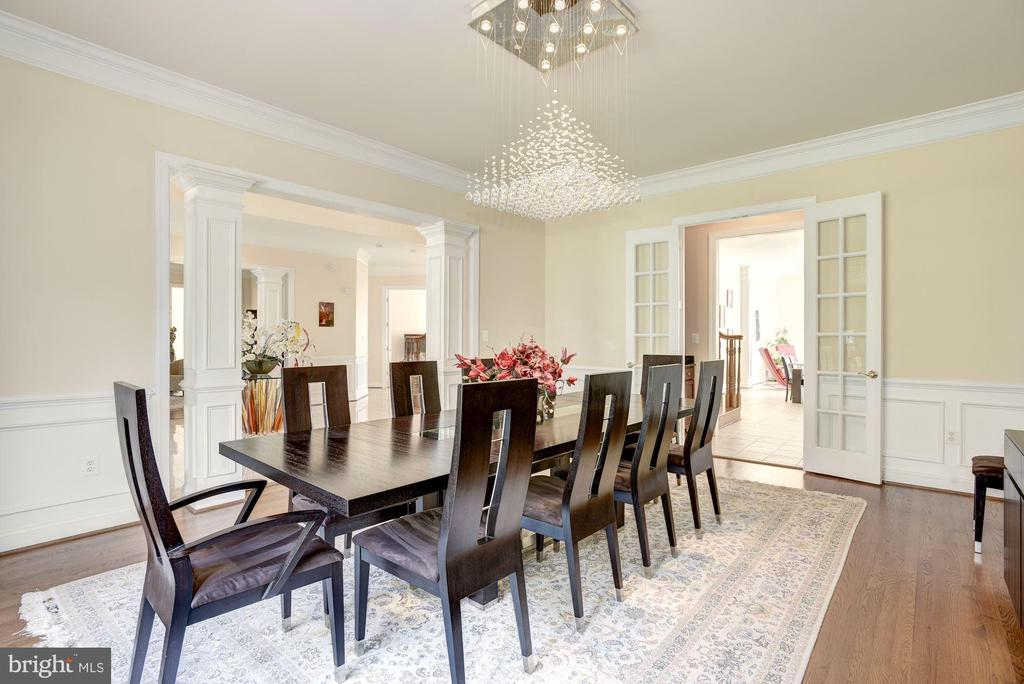 Formal Dining Room - 11408 WOLFS LNDG, FAIRFAX STATION