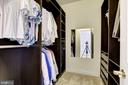 Custom  Walk-in Closet 1 - 11408 WOLFS LNDG, FAIRFAX STATION