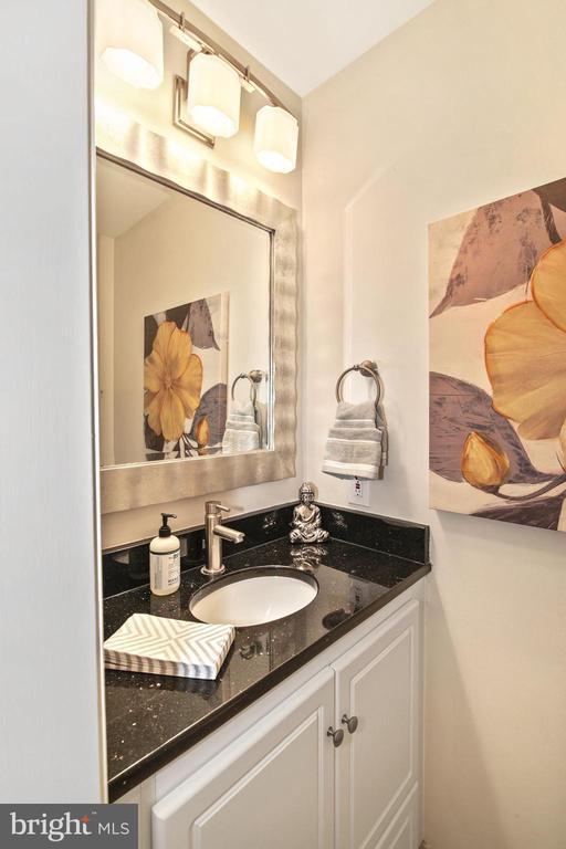 Powder room on 2nd level! - 3747 KANAWHA ST NW, WASHINGTON