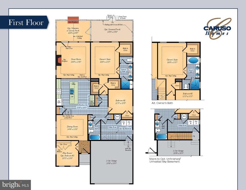 Floorplan - 18530 TRAXELL WAY, GAITHERSBURG
