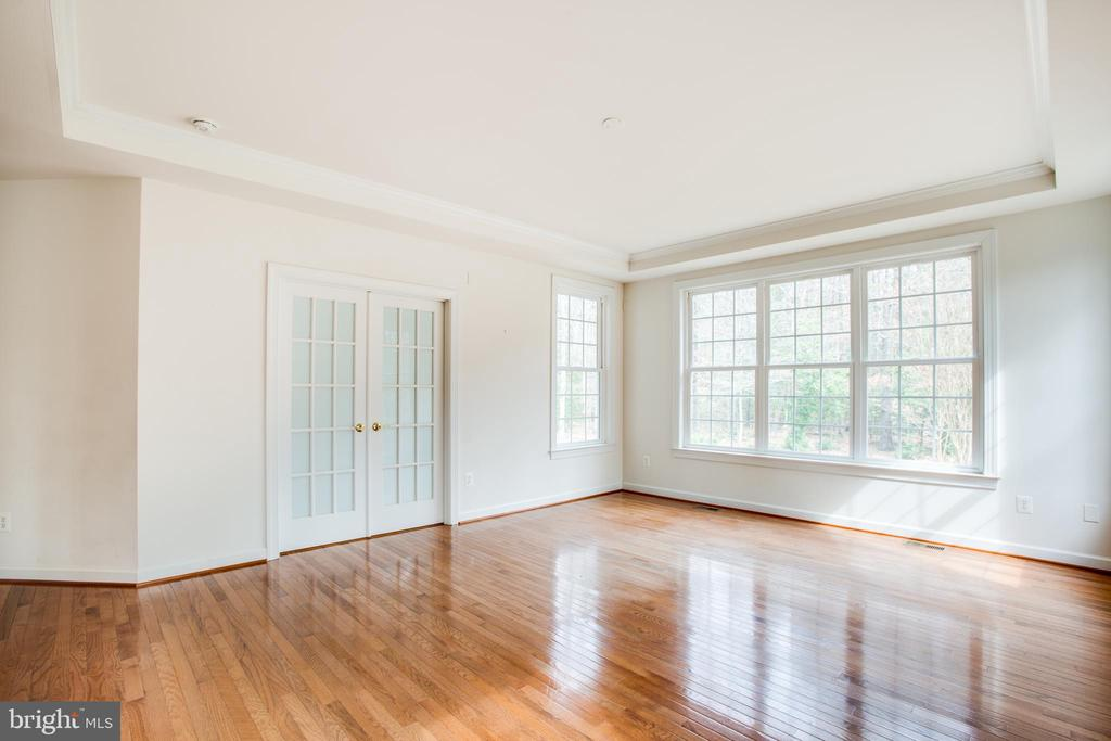 French doors to sitting area  closed for privacy - 7911 MADISON PLANTATION WAY, FREDERICKSBURG