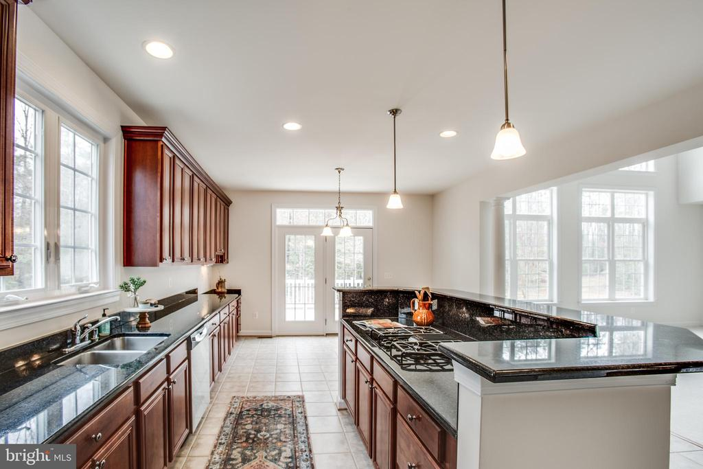 Granite counters, stainless appliances - 7911 MADISON PLANTATION WAY, FREDERICKSBURG