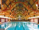 Potomac Club Indoor pool and spa - 43475 SQUIRREL RIDGE PL, LEESBURG