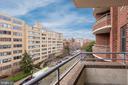17th Street facing views - 1401 17TH ST NW #604, WASHINGTON