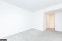 Master walk in closet and en suite bathroom - 1401 17TH ST NW #604, WASHINGTON